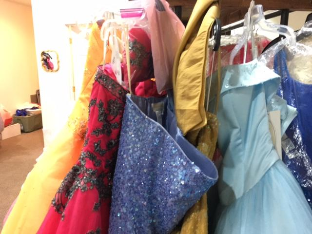 My Dreams Do Come True Provides thousands of dresses to girls in our community free of charge. ( Photo: Courtney Wheaton)