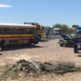 Students and parents shaken after school bus crash with multiple injuries