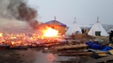 Last of pipeline opponents leave North Dakota protest camp