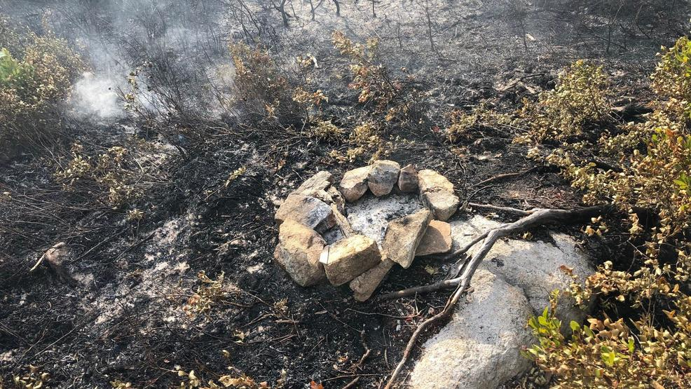 Illegal fire damages tent site at Acadia campground, forces partial evacuation