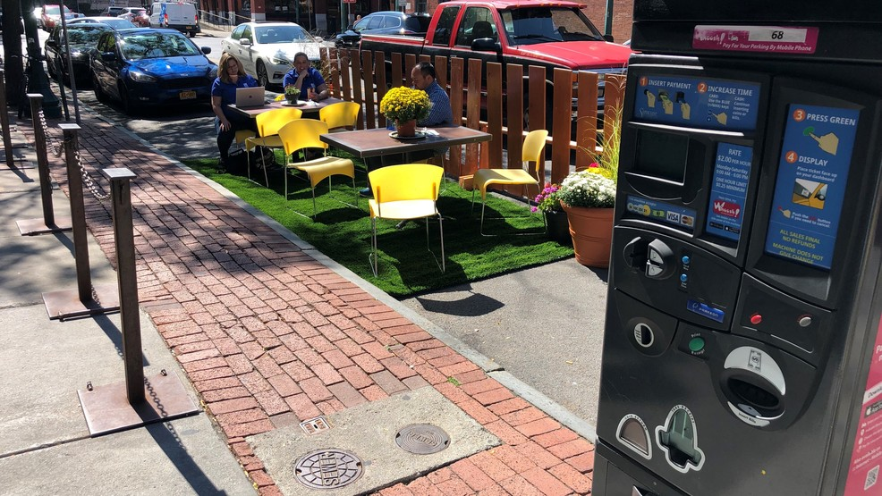 PARK(ing) Day transforms parking spots in Downtown Syracuse