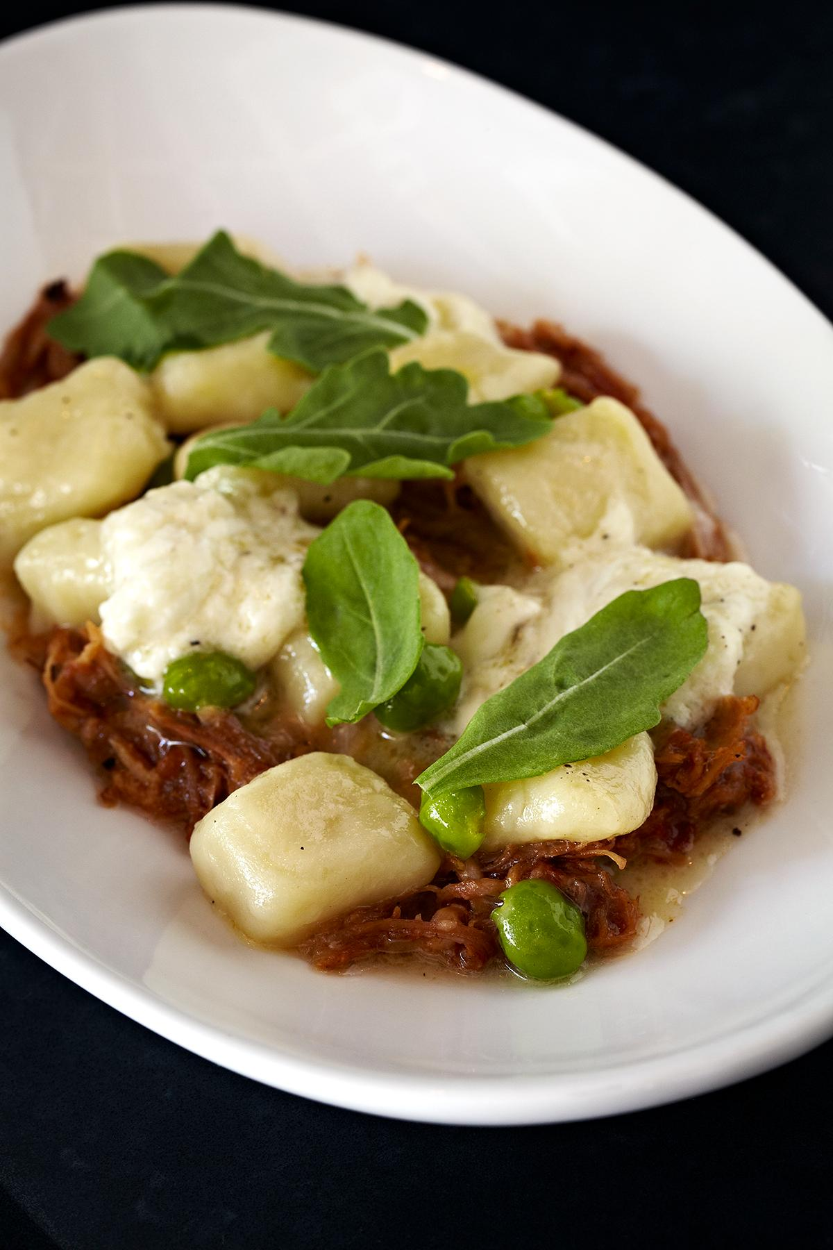 Potato Gnocchi with Short Rib Ragu, Chili Flake and Robiolina (Photo courtesy: Graffiato)<p></p>