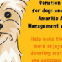 Panhandle Paws of Hope to host two donation drives