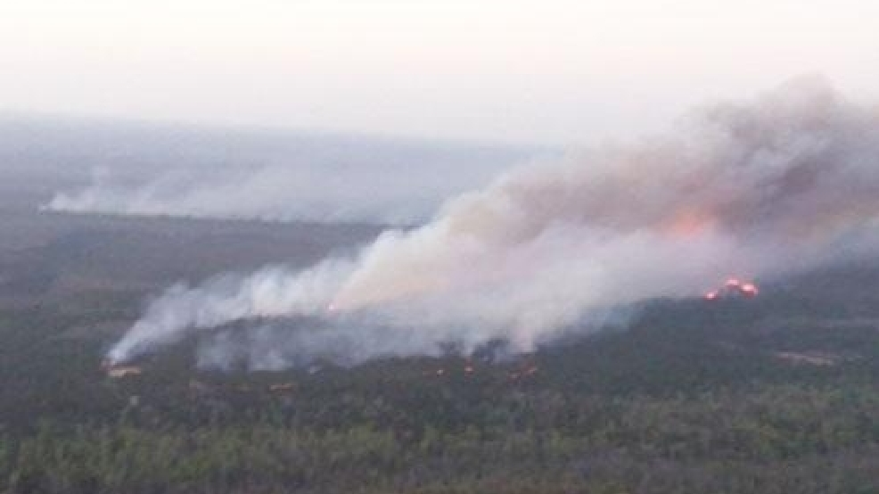 Charleston County fire contained, Highway 17 North open | WPDE