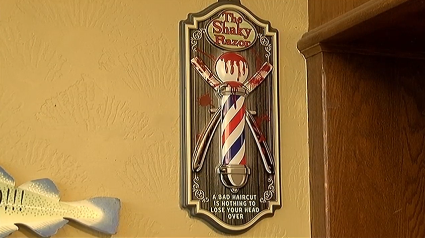 <p>Jacksonville Barbershop has been open for business since 1869. The State of Oregon had only been in existence for a decade at that point. (KTVL)</p>