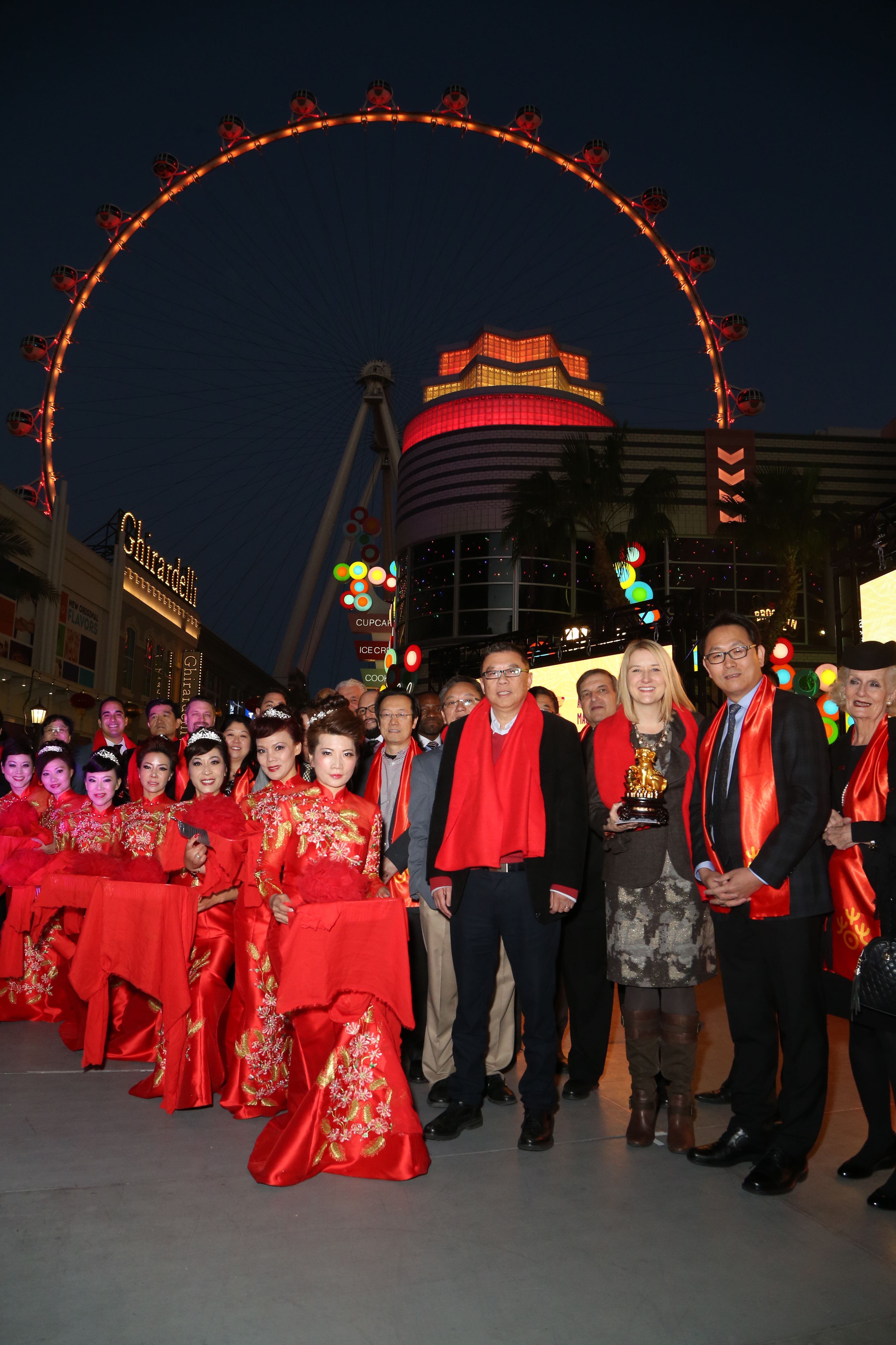 Chinese New Year 2018: The LINQ Promenade Ribbon Cutting{&amp;nbsp;}(Photo Credit: Gabe Ginsberg)<p></p>