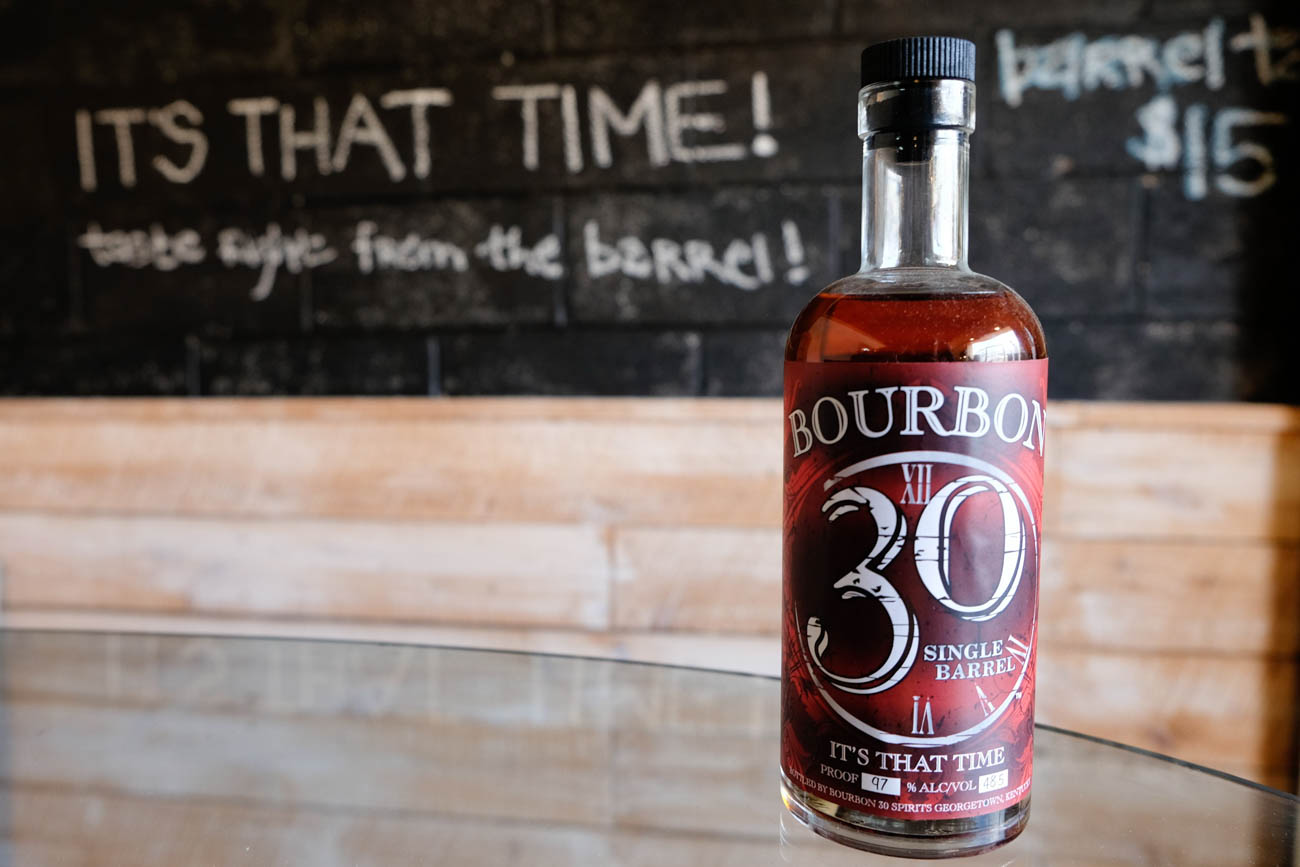 Bourbon 30 Spirits Distillery is a traditional, family-owned and operated distillery in town.{ }/ Image courtesy of Georgetown/Scott County Tourism // Published: 11.1.18