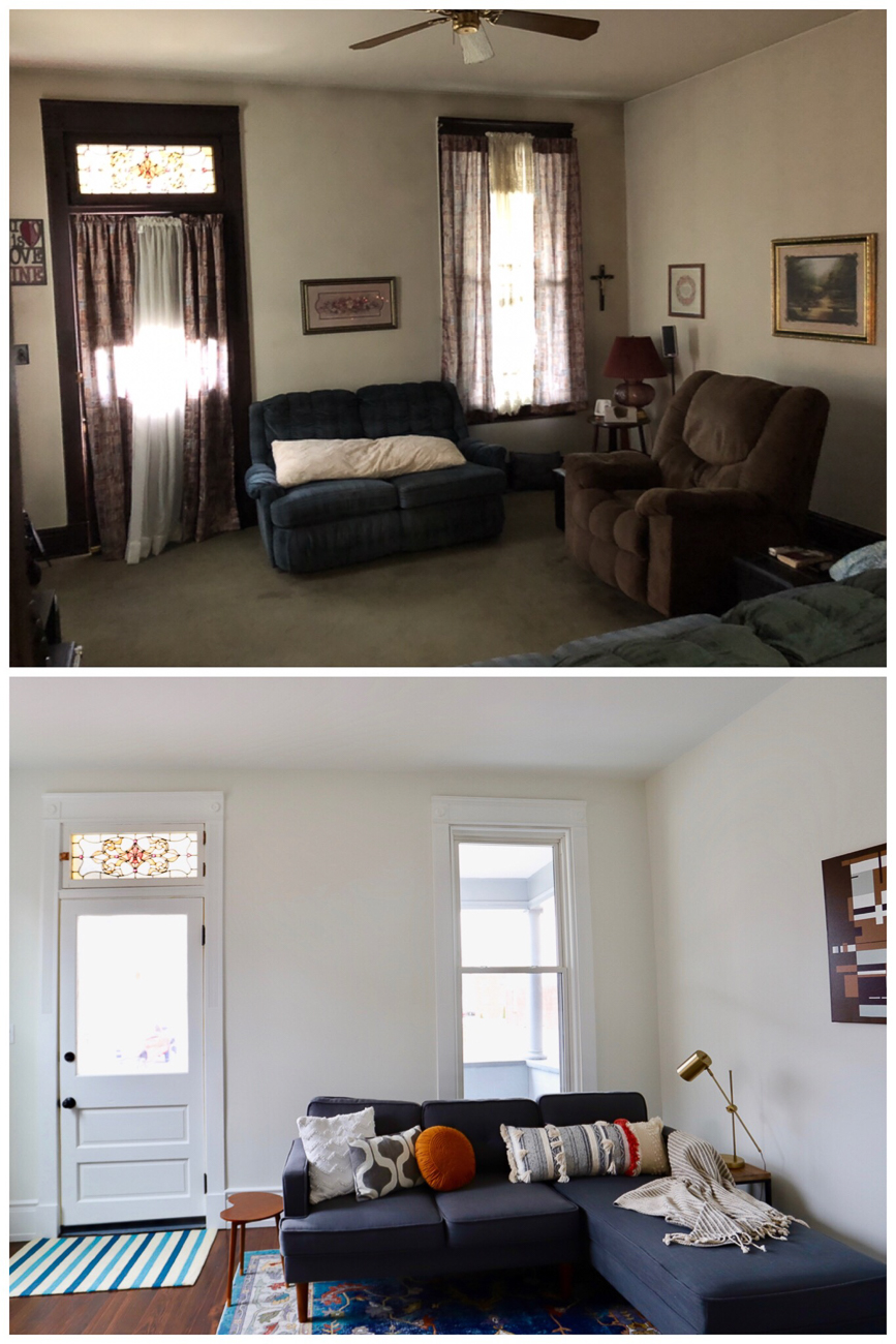 Before and after / Image courtesy of Nicole Nichols // Published: 4.10.19