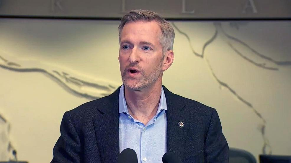 Portland Mayor Ted Wheeler announces he's running for reelection in 2020