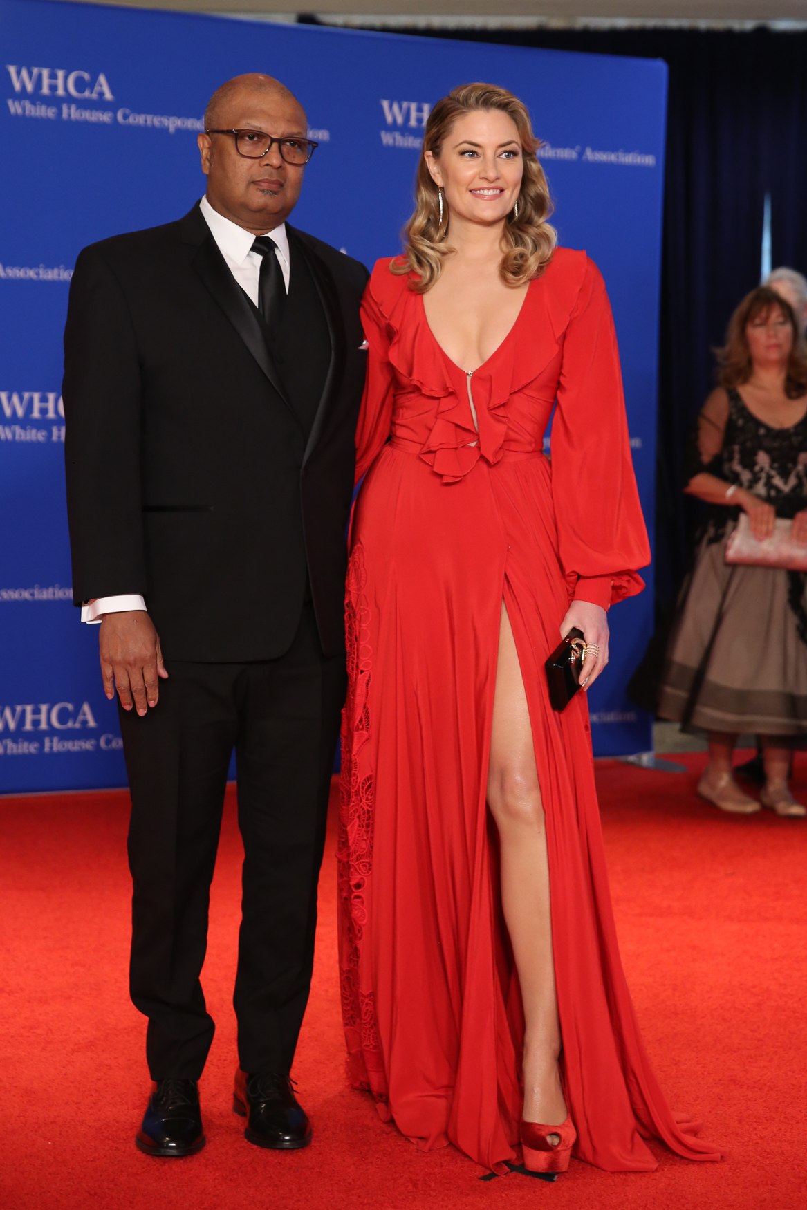 Nerd prom is back! Hundreds of notable figures in media, politics and entertainment flocked to the Washington Hilton for the annual White House Correspondents' Dinner.{ } Although the president was absent, the crowds made a significant rebound compared to last year. Here's what the red carpet looked like. (Amanda Andrade-Rhoades/DC Refined)