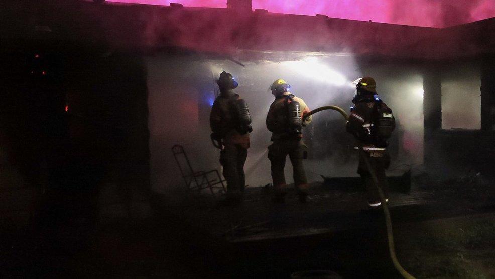 Firefighter injured fighting blaze at Gresham home