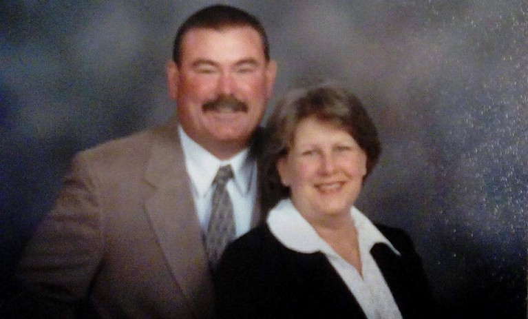 Jeannine and her husband, Pat. (Photo courtesy of Jeannine Schaefer)<p></p>