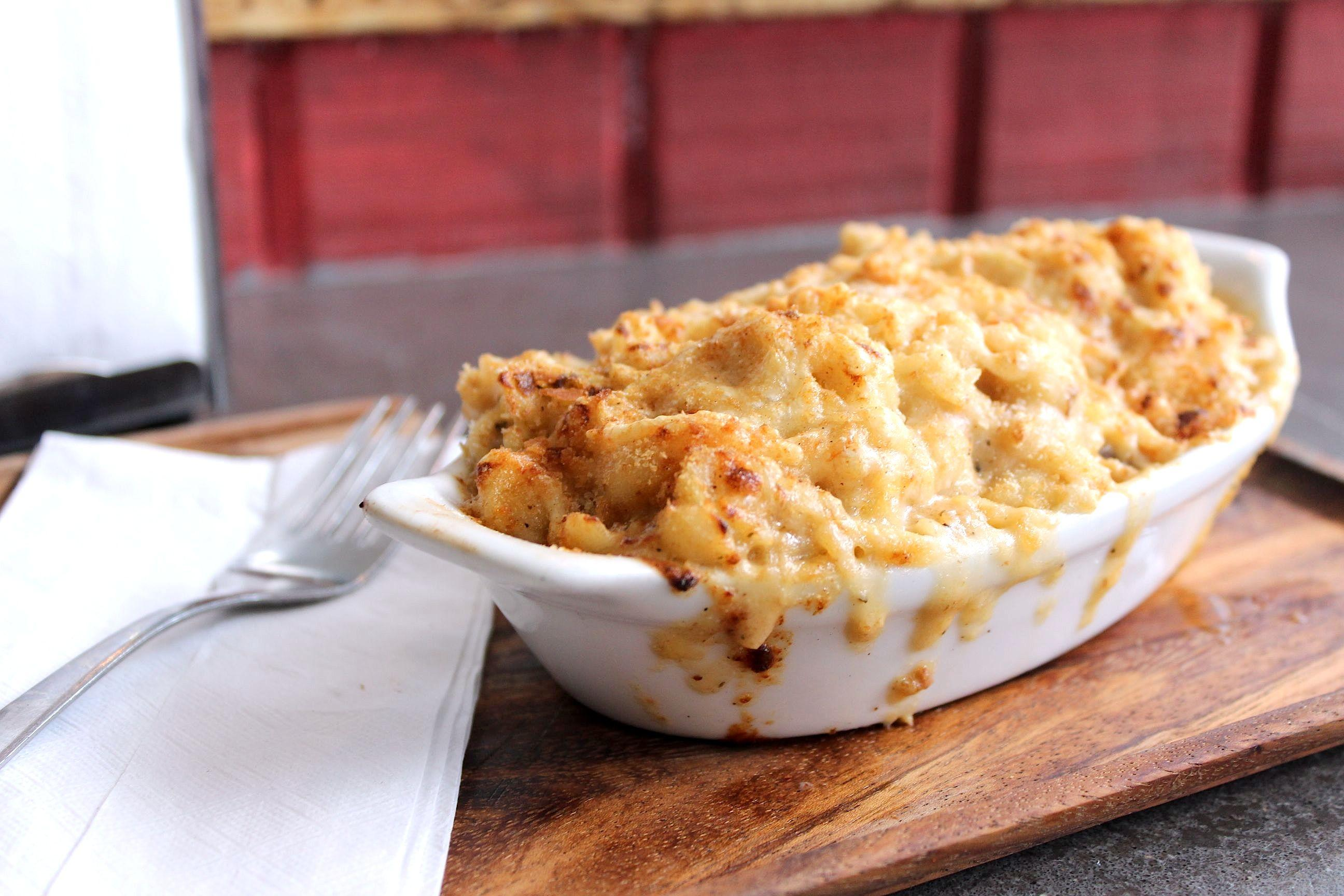 Mac and Cheese at Bayou Bakery (Photo credit: Bayou Bakery)<p></p>