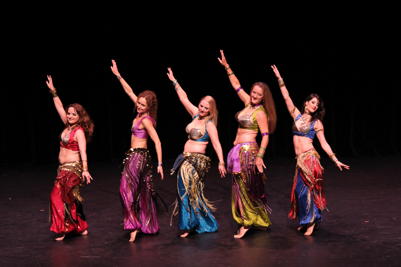 Anaya Belly Dance brings skilled dancers who combine belly dance, modern fusion, and Chinese martial arts to the Jason-Kaplan Theater at the Aronoff Center for the Arts on Saturday, October 6 at 7:00 PM. / Image: Rob Badger // Published: 10.1.18