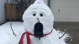 GALLERY: Northern Nevada builds a snowman on Thursday, Jan. 12