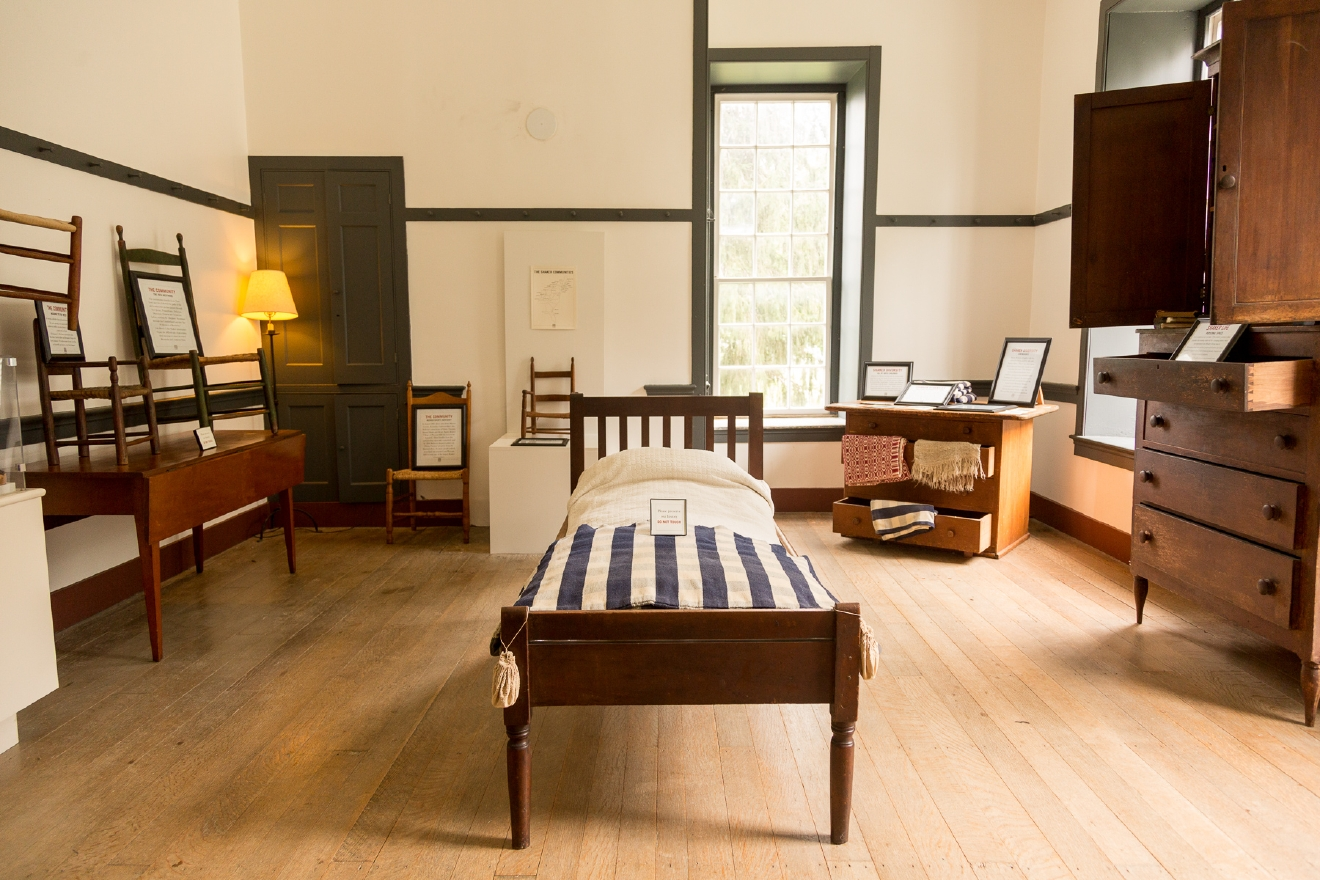 The Center House offers sleeping quarters for the higher ranked members of this Shaker community. / Image: Daniel Smyth