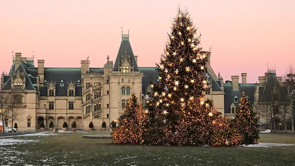 Biltmore Christmas.Christmas At Biltmore Is A Sight To See Wlos