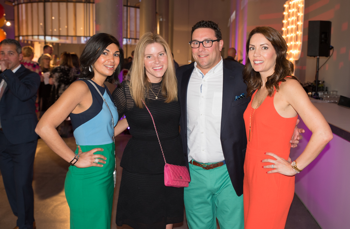 Aparna Shah, Liz and Neil Fleischer, and Tina DiSanto  / Image: Sherry Lachelle Photography // Published: 4.28.18