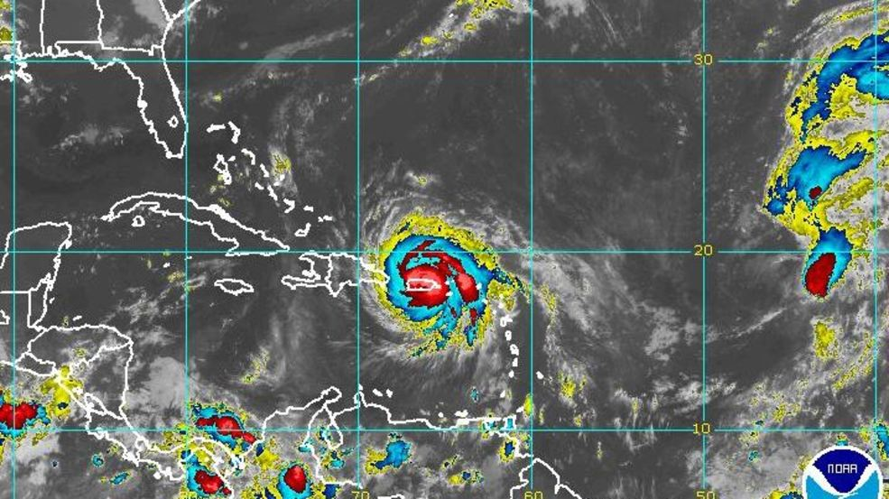 Image result for Hurricane Maria rages on as Caribbean residents attempt to pick up their lives