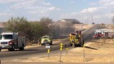 Amarillo Fire crews battle grass fire in Northwest Amarillo