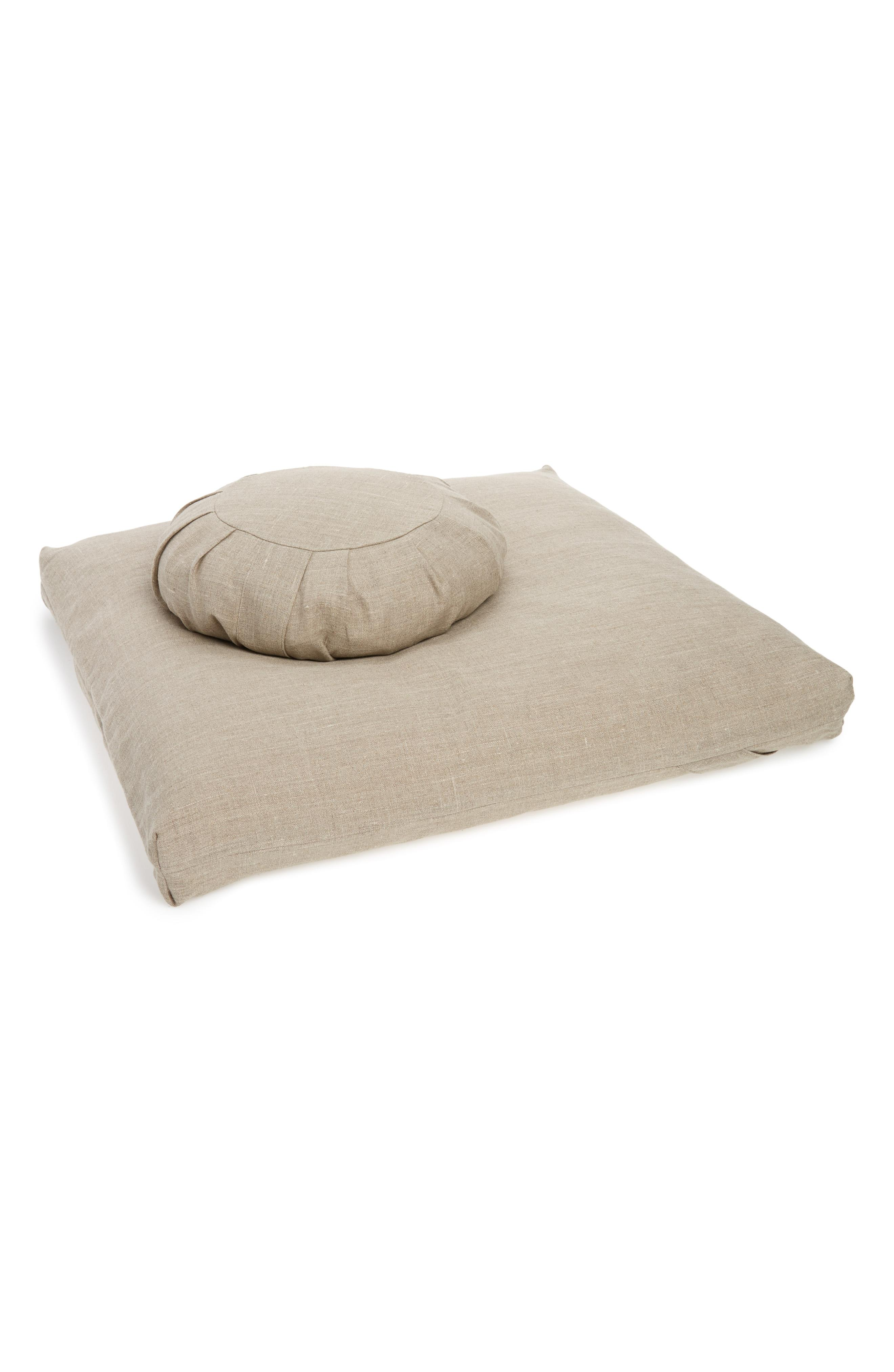 Don't you dare call it a dog bed! It's a meditation pad, duh. Ever Veritas Zafu Zabuton Meditation Cushion Set - $496. More info at Nordstrom.com/POP (Image: Nordstrom)