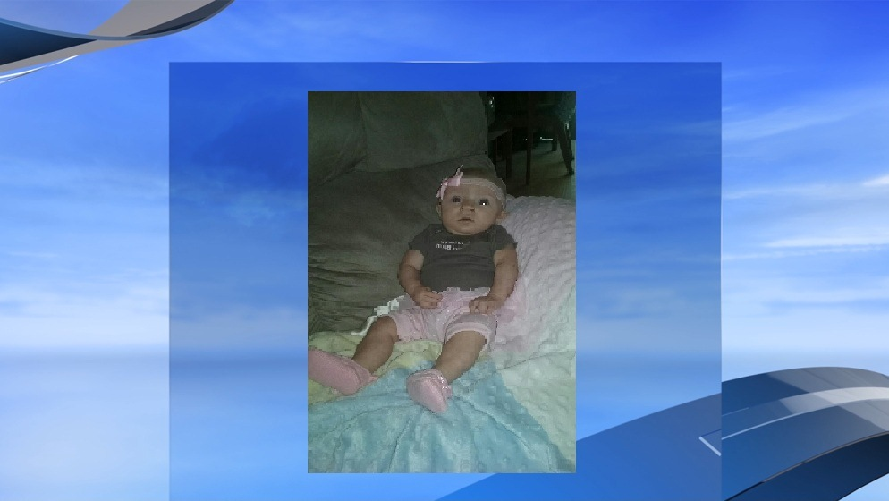 Photo provided by Horry County police of 5-month-old Grace, whose body was found the afternoon of Nov. 5 in a Socastee creek.