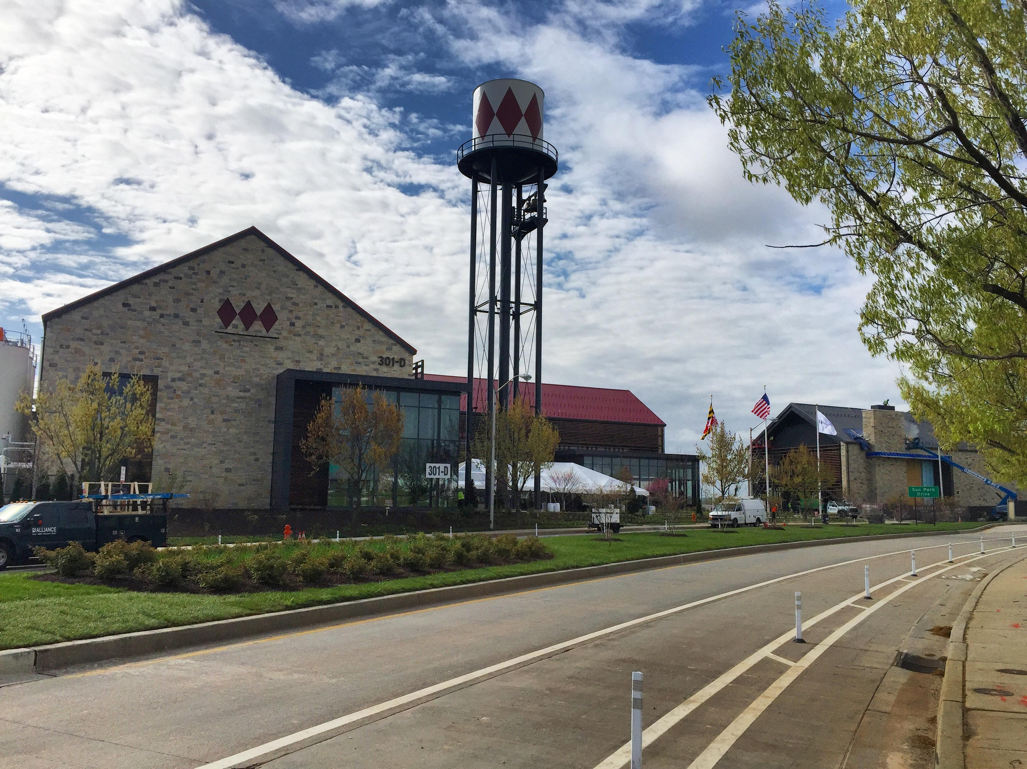 Sagamore Spirit's campus sits on five acres beside the Patapsco River and includes a 22,000 sq ft distillery building. (Photo courtesy Sagamore/Maroon PR)