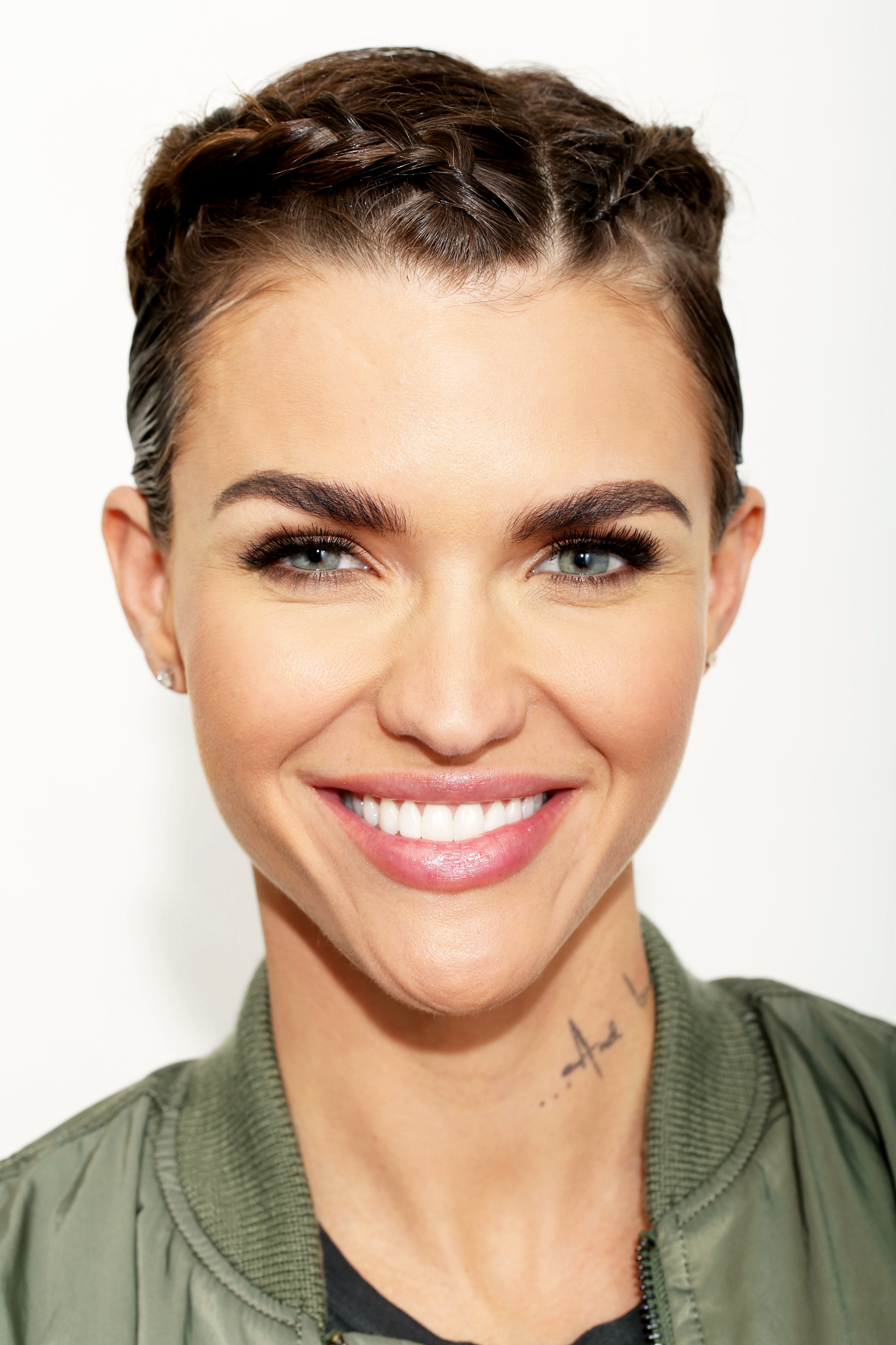 In this Tuesday, Jan. 5, 2016 photo, actress Ruby Rose poses for a portrait in Los Angeles.  (Photo by Matt Sayles/Invision/AP)
