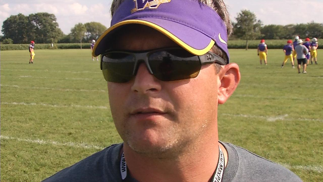 Williamsville Head Coach Aaron Kunz
