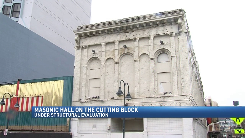 Evaluation Could Determine Future Of Masonic Hall In