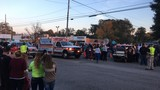 Two hit by parade boat during Darlington Christmas Parade