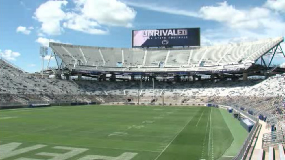 Penn State Announces Parking Changes Ahead Of Maryland Game Wjac