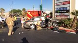 Fatal multi-vehicle crash closes down southbound Rainbow Boulevard near Alta