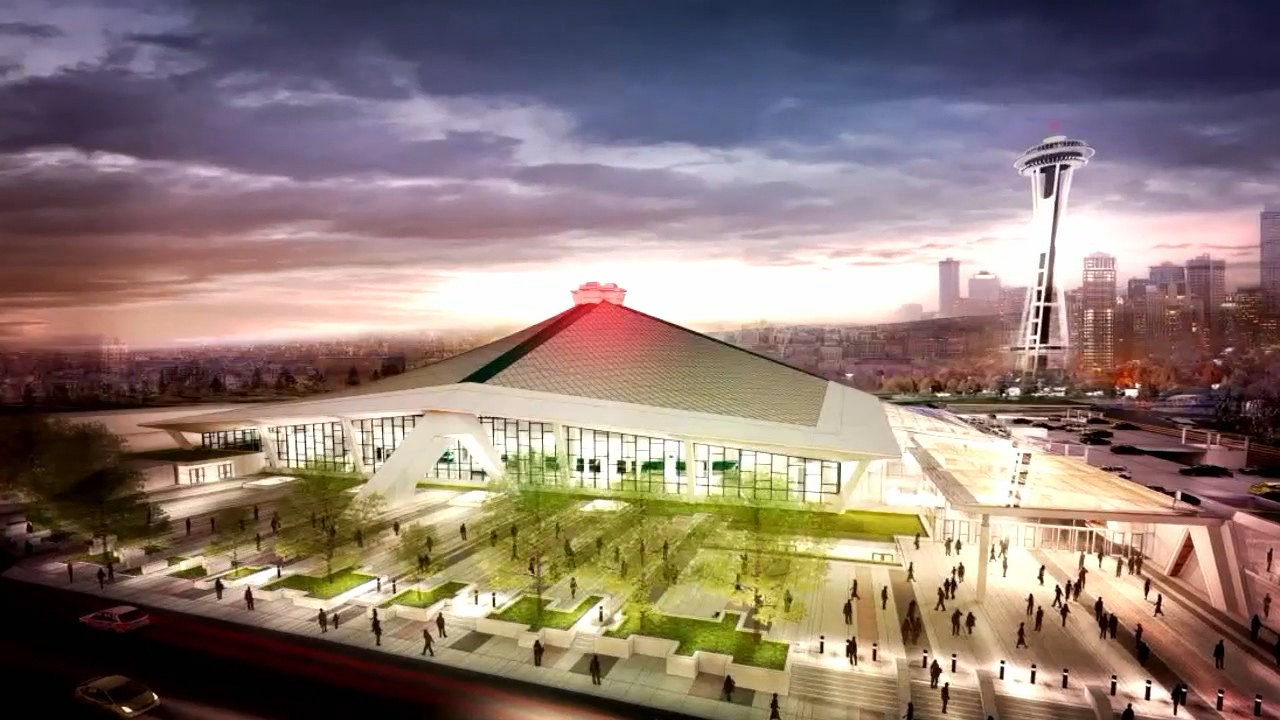 The Seattle City Council on Monday approved a memorandum of understanding with Los Angeles-based Oak View Group to privately finance a roughly $600 million remodel that would nearly double the square footage of KeyArena. (Photo: Oak View Group artist rendering)<p></p>