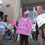 'No Nazis At UF' protesters at University of Florida ahead of white nationalist's speech