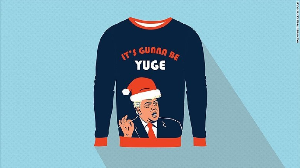 you can now design your own ugly christmas sweater kutv - Unique Christmas Sweaters