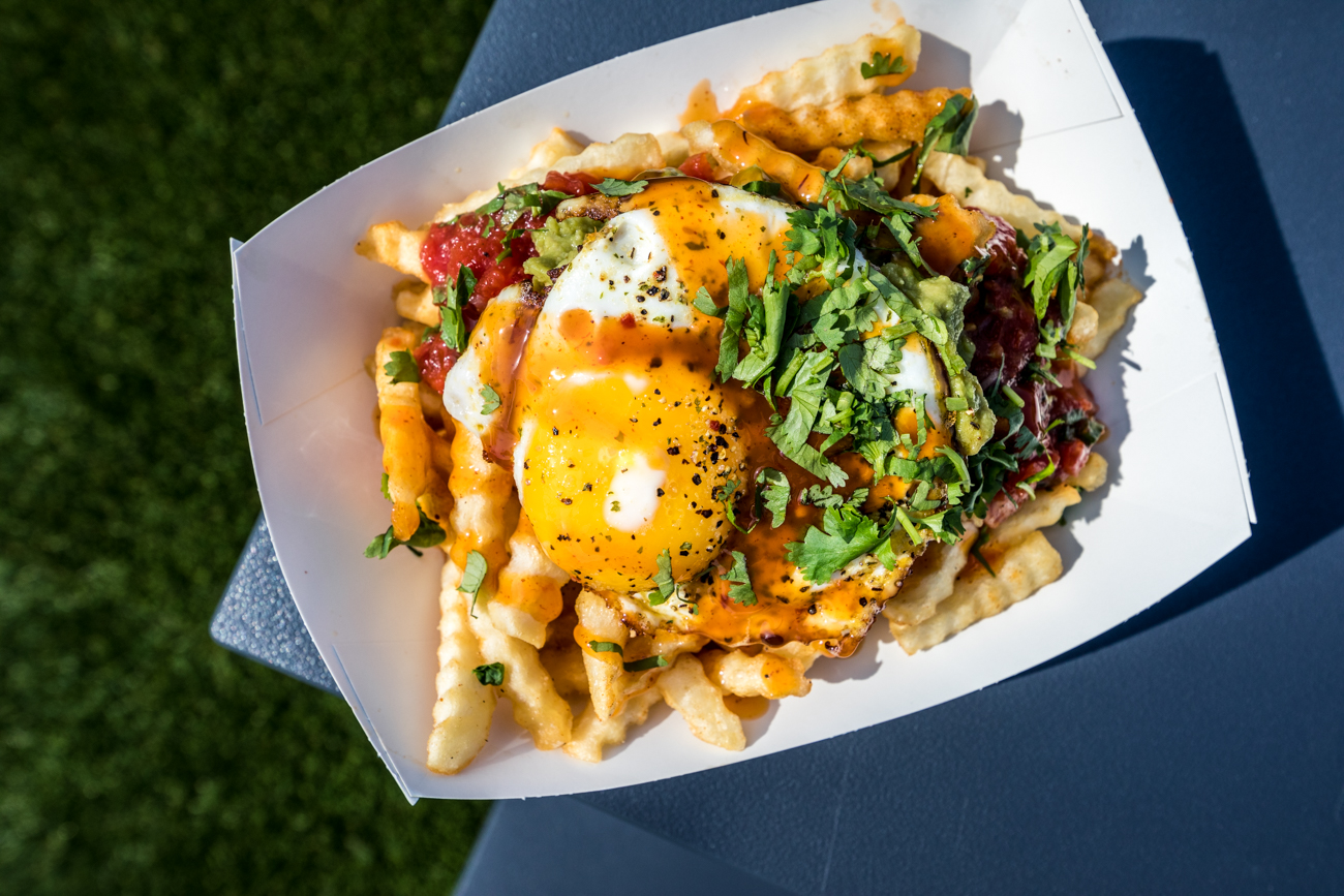 Mess Fries from Django Western Taco / Image: Catherine Viox{ }// Published: 10.15.20