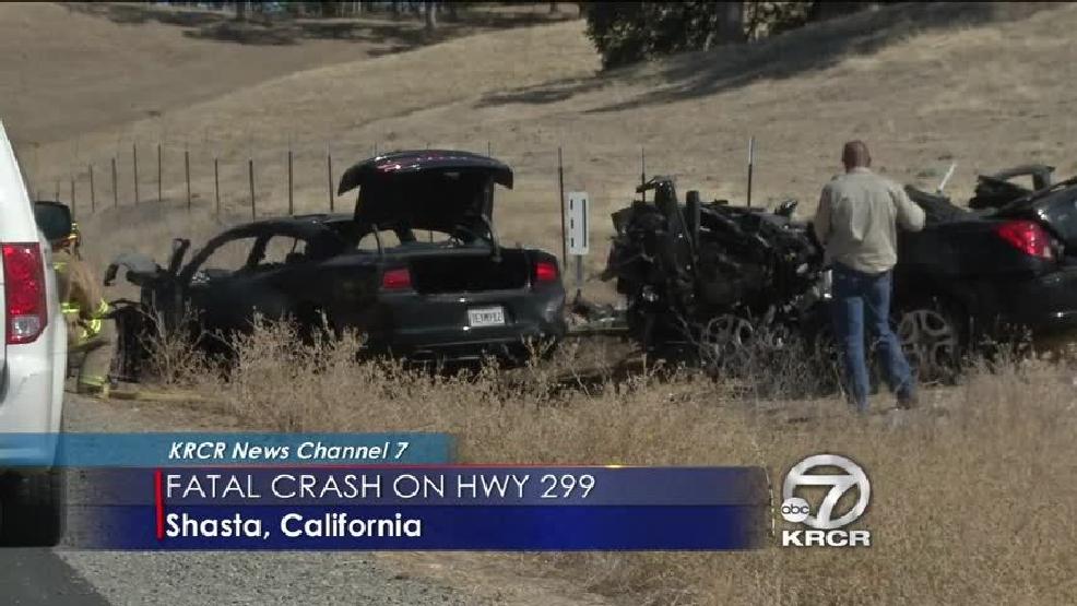 Fatal car crash on Highway 299 | KRCR