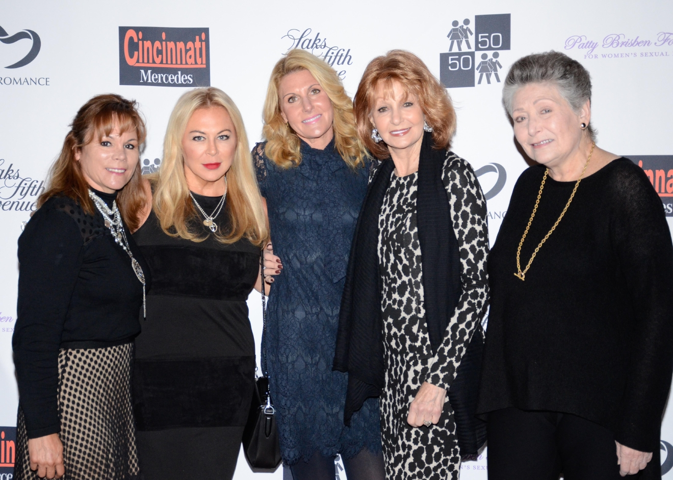 Jamie Cusick, Julia Wesselkamper, Julie Hill, Barbara Hahn, and Barbara Gould / Image: Bob White