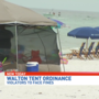 Violators to face fines over Walton County beaches tent ordinance