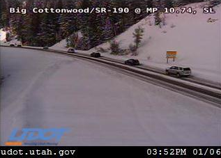 Big Cottonwood Canyon closed, dozens of crashes reported all
