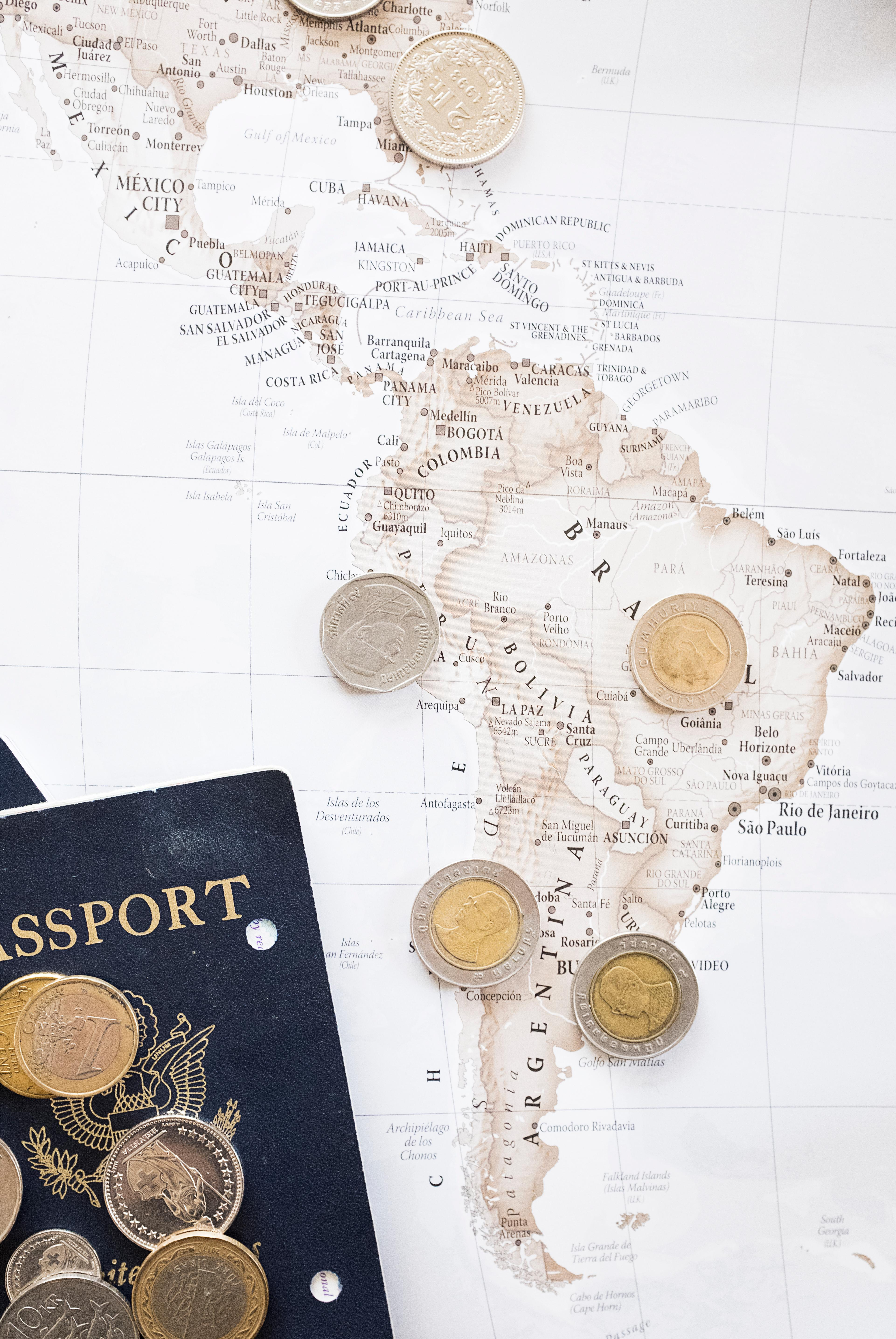 Send out an invite and ask your guests to bring their passport and any currency they still have left from an old trip abroad. No need to explain anything more.{ } (Image: Ashley Hafstead)