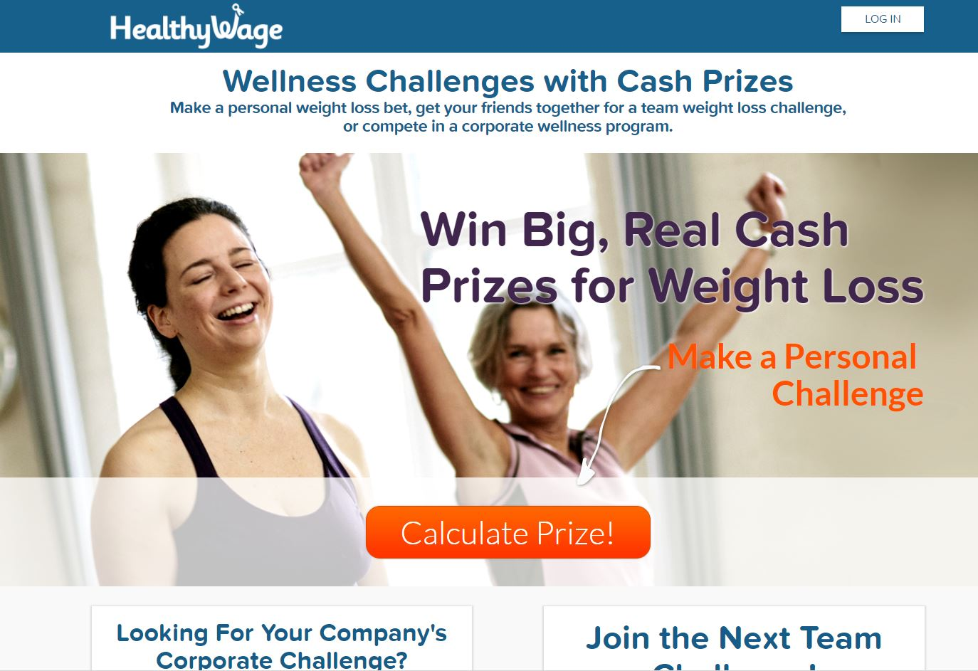 HealthyWage allows you to bet on how much weight you want to lose, in a certain amount of time.  Then you select how much you are willing to bet per month on the possibility of you reaching that goal (Liz Cooper/WPDE)<p></p>