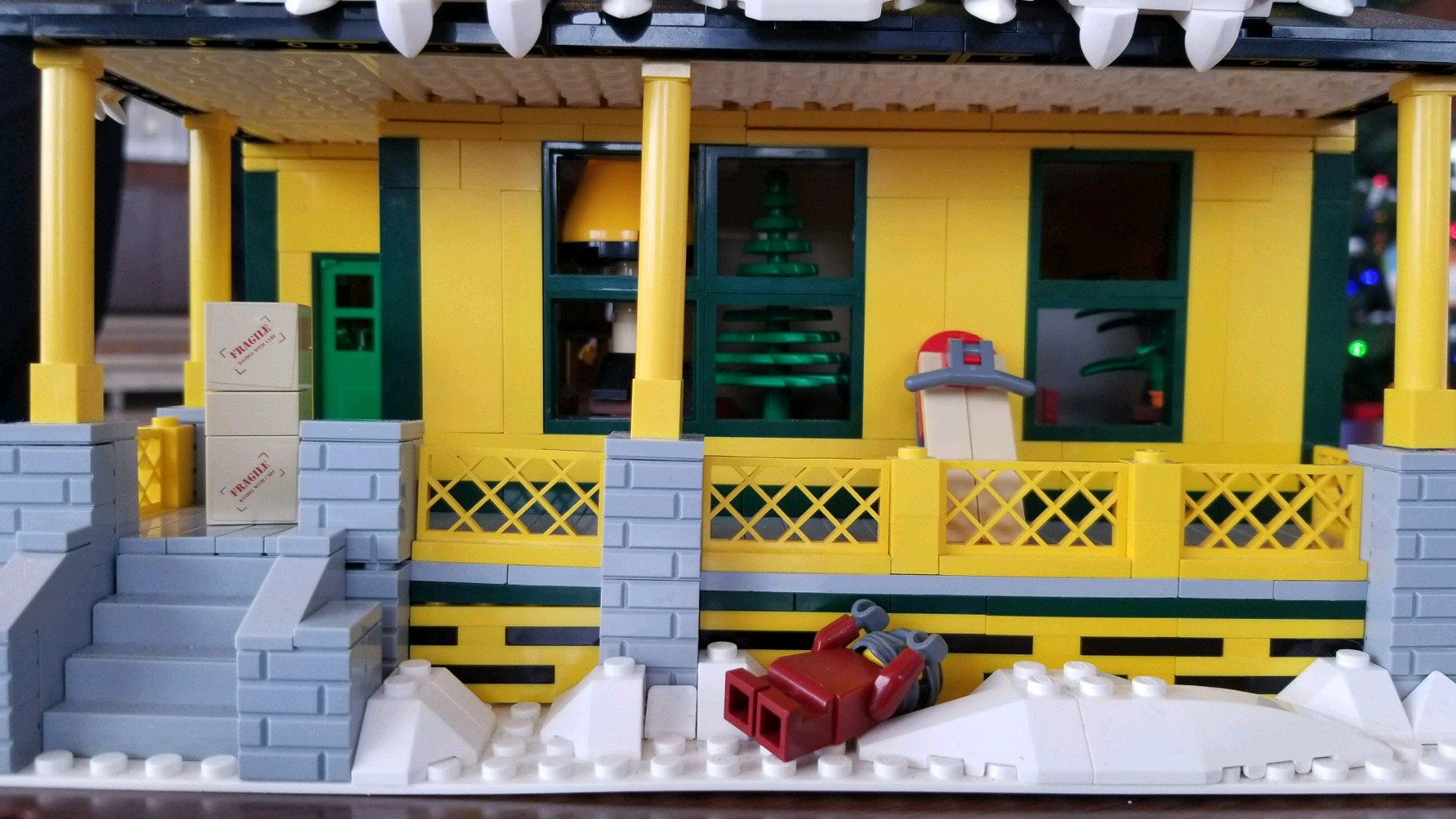 Lego has a policy that any creation that is able to get 10,000 signatures will be considered.