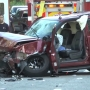 5 people injured in multi-car Portsmouth crash