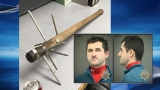 Deputies: Man accused of threatening wife with 'homemade medieval weapon'