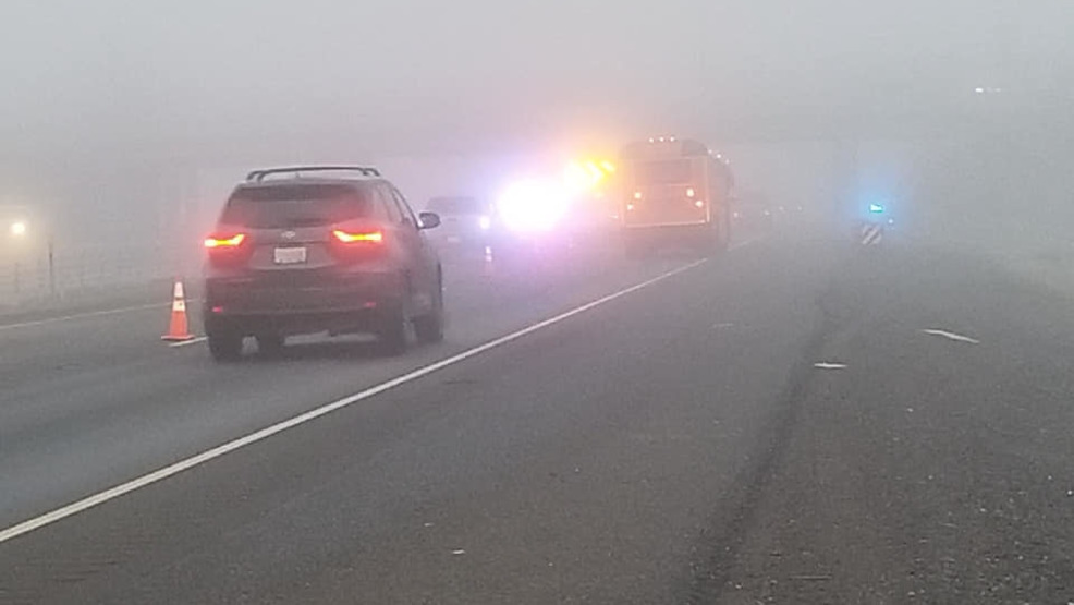 Fatal crash between car & pedestrian blocks I-5 | KTVL
