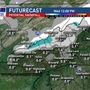 Light snow overnight in Asheville, more closer to the Tennessee border