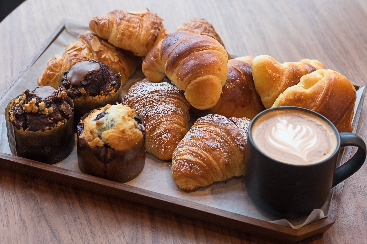 Handcrafted pastries made with European-style butter and Italian fillings will be served all day.  Delicious on their own; even better when paired with espresso. (Image: Paola Thomas / Seattle Refined)<p></p>
