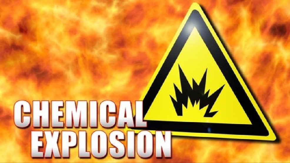what chemical can explode upon contact with water